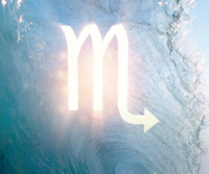 scorpio, sign, and water image