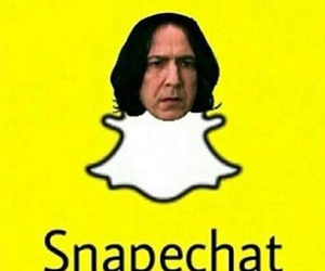 potter, snape, and harry image