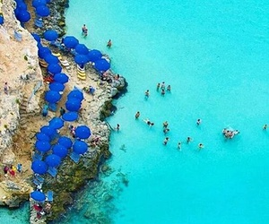 blue, beach, and malta image