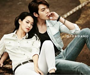 kim woo bin, shin min ah, and actor image