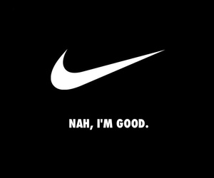 nike, black, and quotes image