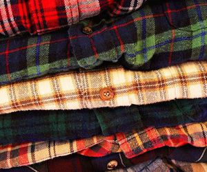 flannel, hipster, and style image