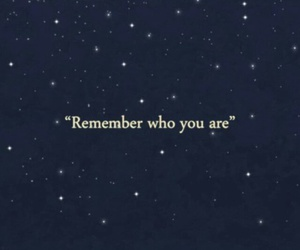 remember and words image