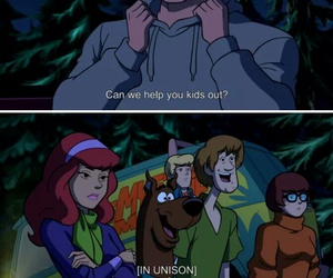 funny, scooby doo, and tumblr image