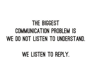 communication, listen, and text image