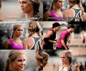 the vampire diaries, claire holt, and tvd image