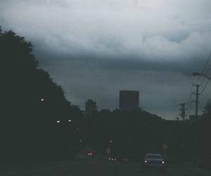 grunge, city, and dark image