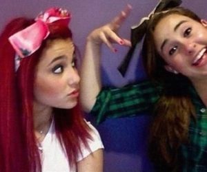 ariana grande, fetus, and red head image