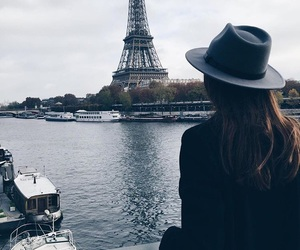 travel, girl, and paris image