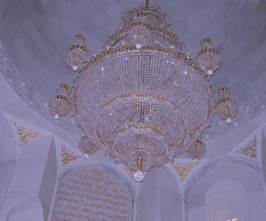 chandelier, aesthetic, and diamond image