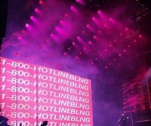Drake, hotline bling, and concert image