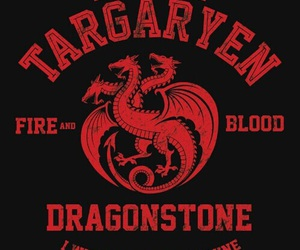 got, game of thrones, and targaryen image
