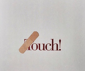 touch, aesthetic, and ouch image