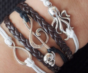 bracelet, jewelry, and anchor image