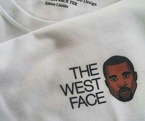 kanye west, West, and white image