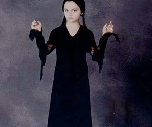 black, dark, and morticia image