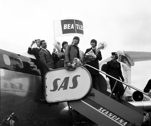 rock n' roll, the beatles, and tour image