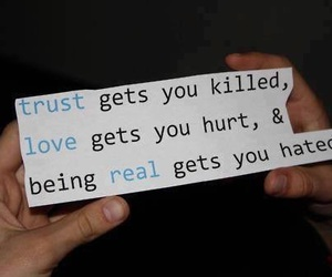 love, trust, and quote image