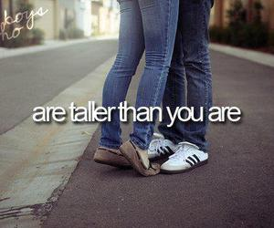 love, boy, and taller image