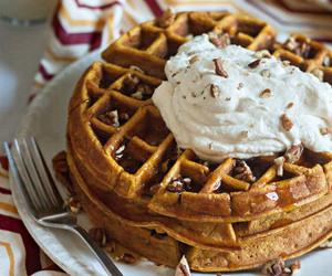 sweet and waffles image