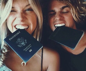 couple, travel, and goals image
