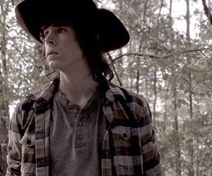 chandler riggs, twd, and carl grimes image