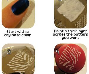 nail, stripes, and tutorial image