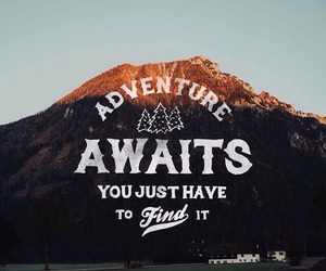adventure, live, and travel image