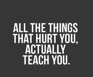 hurt, quotes, and things image