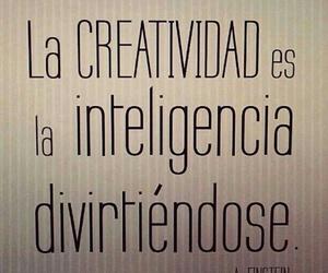 creativity, frases, and intelligence image
