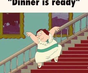 dinner, family guy, and funny image