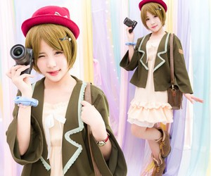 fashion, cute anime girl cosplay, and love live cosplayers image
