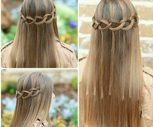 hair style, hair design, and long image