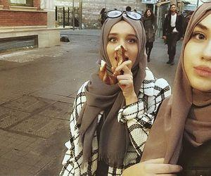 hijab, cute, and islam image
