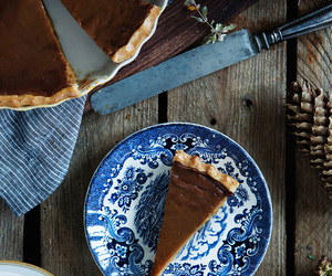 dessert, pie, and Pumpkin Pie image