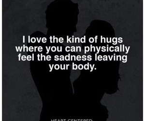 body, hug, and love image