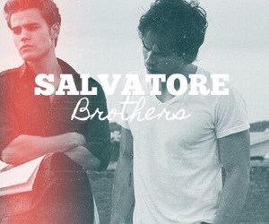 salvatore, brothers, and damon image