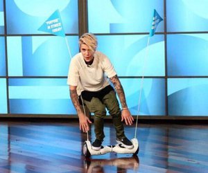 idol, justin bieber, and the ellen show image
