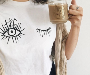 fashion, coffee, and style image