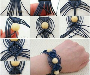 bracelet, tutorial, and creative ideas image