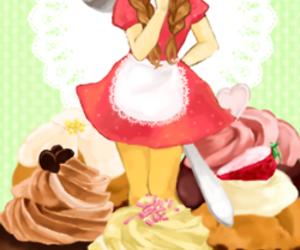 :D, anime, and anime girl image