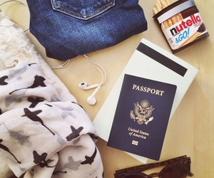 nutella and travel image
