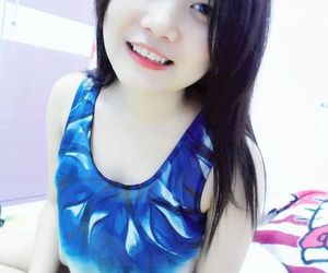 gently, vietnamese girl, and skind image