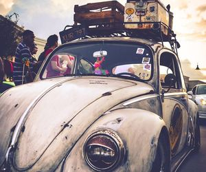 car, travel, and vintage image