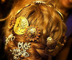 hairstyles, inspiration, and barrettes image