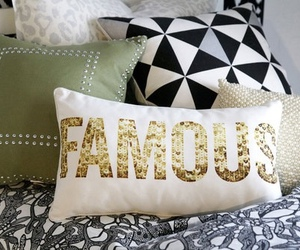 famous and pillow image
