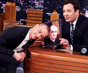 james mcavoy, daniel radcliffe, and jimmy fallon image
