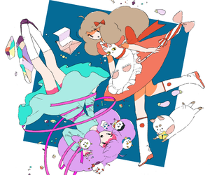bee and puppycat, illustration, and kawaii image