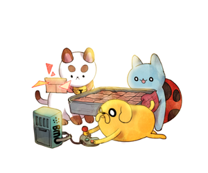 adventure time, bravest warriors, and bee and puppycat image