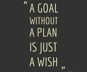 goal, quote, and wish image